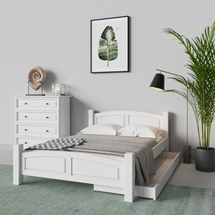 Białe łóżko - 3