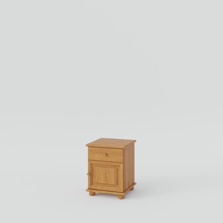 Sosnowa szafka nocna - Komody Drewniane