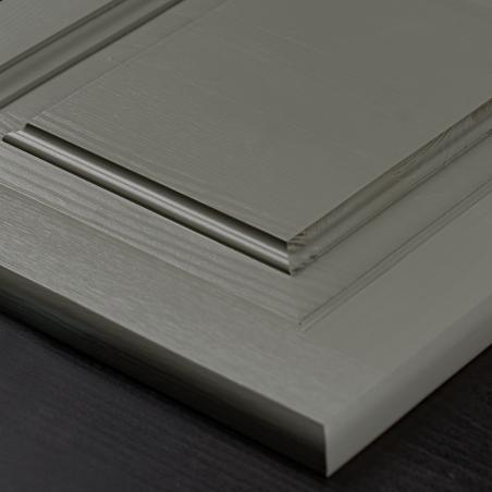 Biały regał - Regały Drewniane