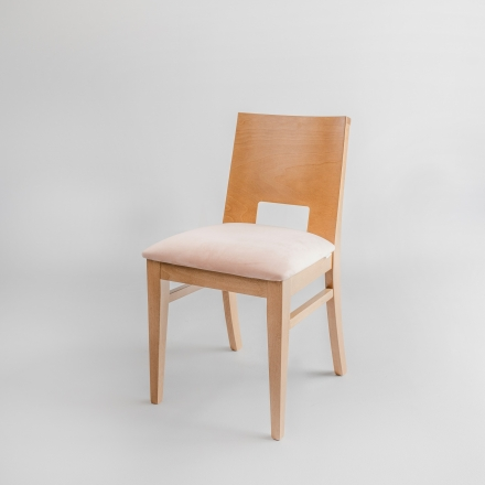 Krzesło bukowe velvet - Krzesła Drewniane
