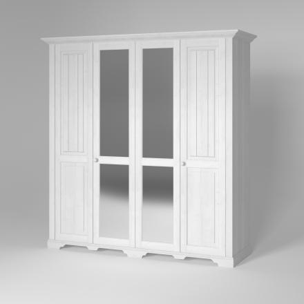 Ekskluzywna szafa czterodrzwiowa - Szafy Drewniane